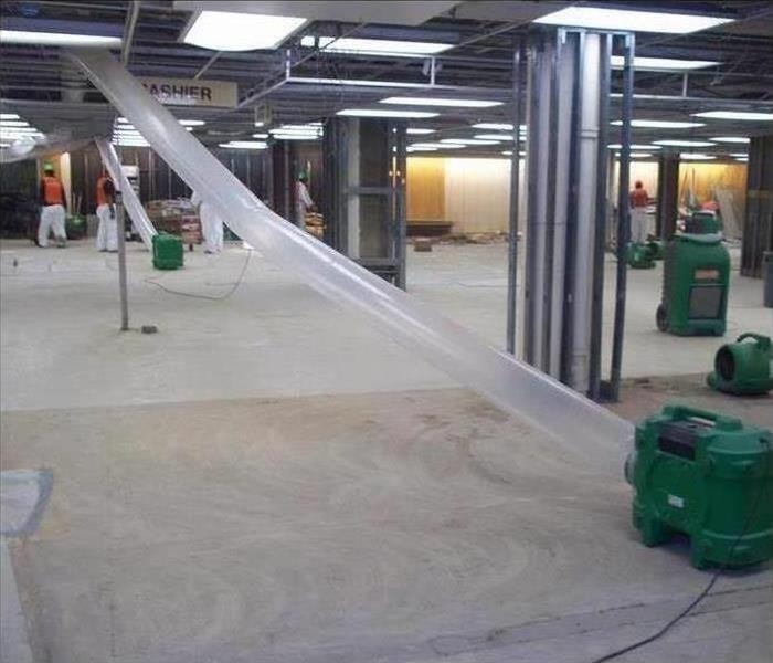 Commercial Water Damage – Atlanta Retail Store After